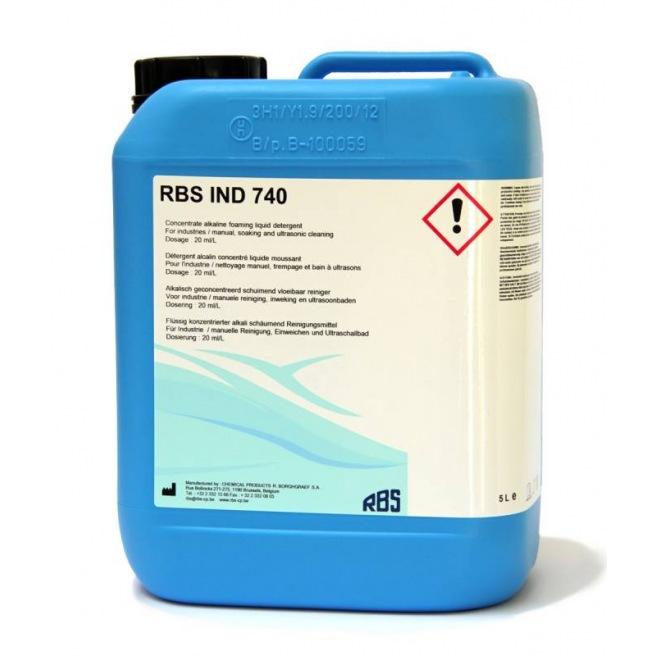 RBS IND 740 - Détergent alcalin polyvalent sans phosphates