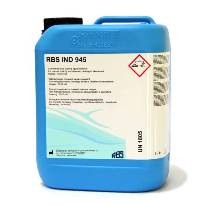 RBS IND 945 - Détergent acide à base d'acide phosphorique