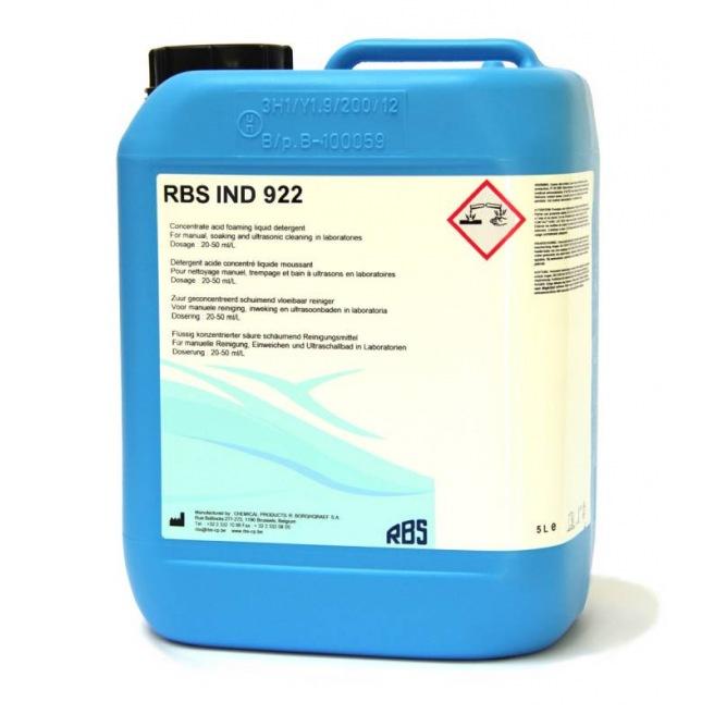 RBS IND 922 - Détergent à base d'acide acétique